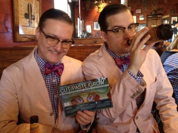 Andrew & Andrew are down with the bioart!